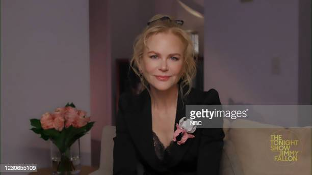 Episode 1388A -- Pictured in this screengrab: Actress Nicole Kidman during an interview on January 15, 2021 --