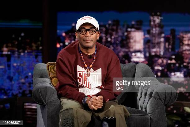 Episode 1389A -- Pictured: Director Spike Lee during an interview on January 18, 2021 --