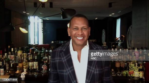 Episode 1389A -- Pictured in this screengrab: Former baseball player Alex Rodriguez during an interview on January 18, 2021 --