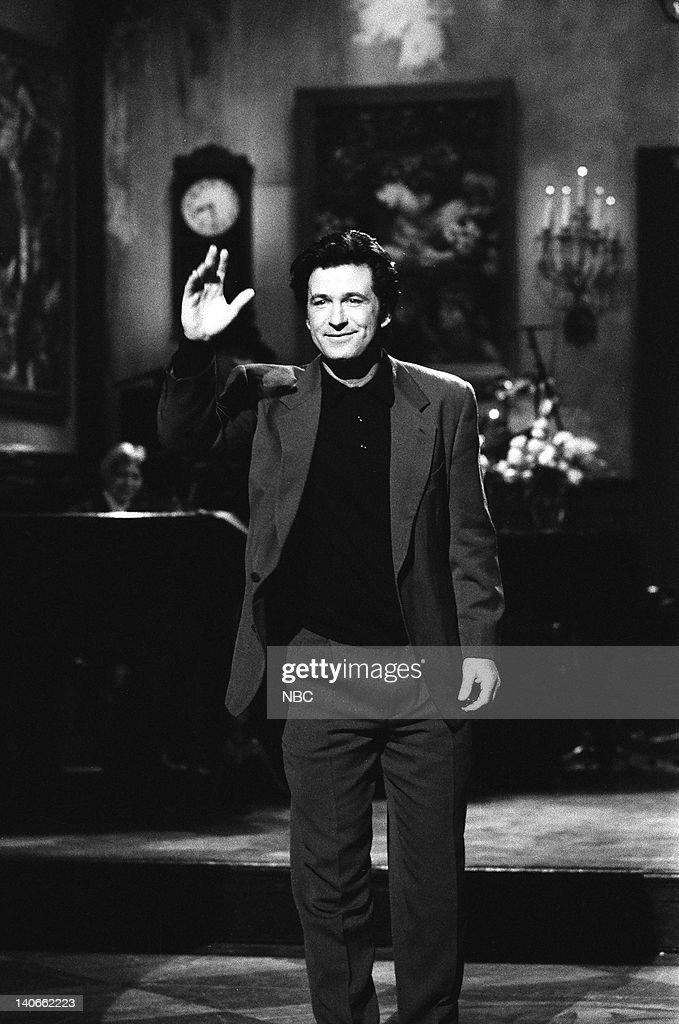 Alec Baldwin during the Monologue on February 23, 1991 -- Photo by: Raymond Bonar/NBCU Photo Bank