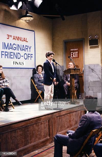Fred Savage as Doug Mendler during the 'Imaginary Friend' skit on February 24 1990 Photo by Raymond Bonar/NBC/NBCU Photo Bank