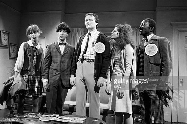 Laraine Newman as Belinda Paul Shaffer as Artie Bill Murray as Todd DiLaMuca Gilda Radner as Lisa Loopner Garrett Morris as Grant Robinson Jr during...