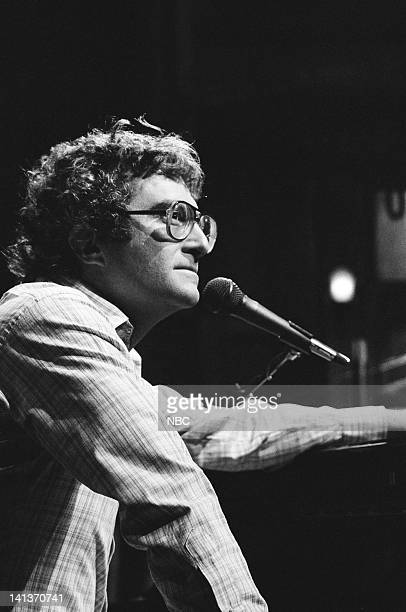 Musical guest Randy Newman performs on February 26 1983 Photo by Alan Singer/NBC/NBCU Photo Bank