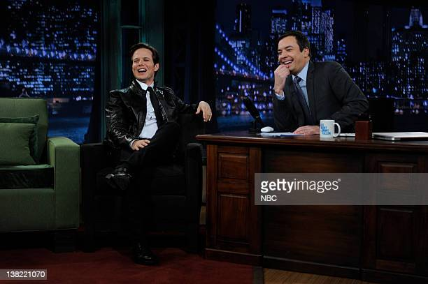 FALLON Episode 140 Airdate Pictured Actor Scott Wolf during an interview with host Jimmy Fallon on November 2 2009