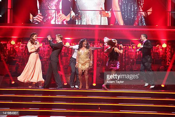 SHOW Episode 1402A All 12 couples awaited to see who would be the first couple to be sent home on the Season Premiere of Dancing with the Stars the...