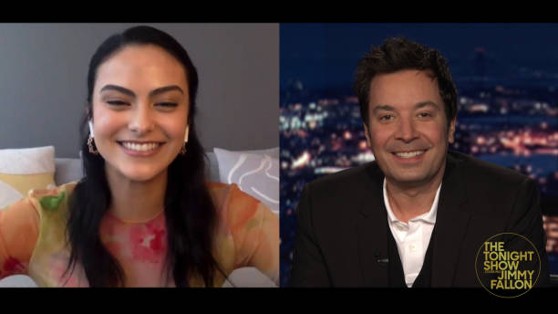 "NY: NBC's ""Tonight Show Starring Jimmy Fallon"" with guests 	Mike Myers & Dana Carvey, Camila Mendes, OLIVIA RODRIGO"