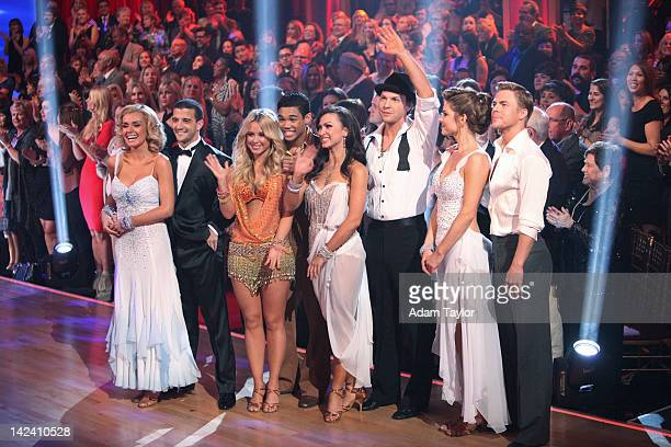 SHOW Episode 1403A The remaining 11 couples awaited to see who would be the second couple to be sent home on Dancing with the Stars the Results Show...