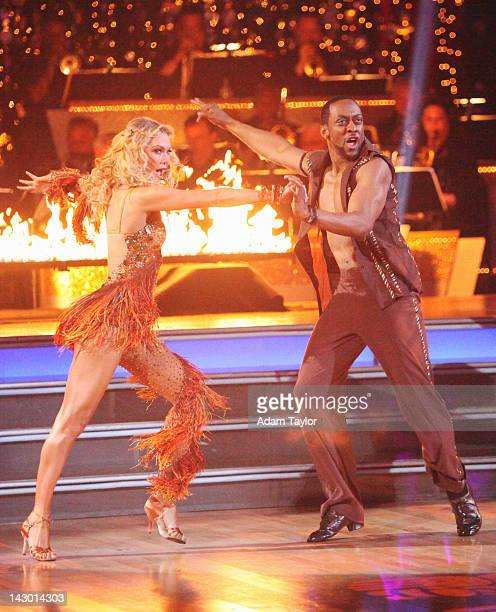 STARS 'Episode 1405' It was Latin Night on 'Dancing with the Stars' and the remaining nine couples heated up the floor dancing either the Salsa...