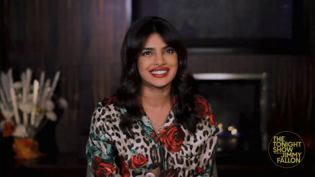 "NY: NBC's ""Tonight Show Starring Jimmy Fallon"" with guests 	Priyanka Chopra Jonas, LaKeith Stanfield, Rob Gronkowski, JOY OLADOKUN"