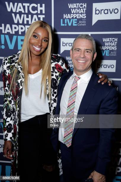 Episode 14092 -- Pictured: NeNe Leakes, Andy Cohen --