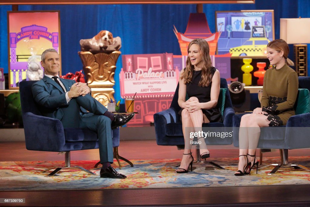 Andy Cohen, Hilary Swank, Kate Mara --