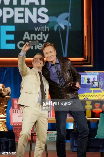 Andy Cohen Conan O'Brien