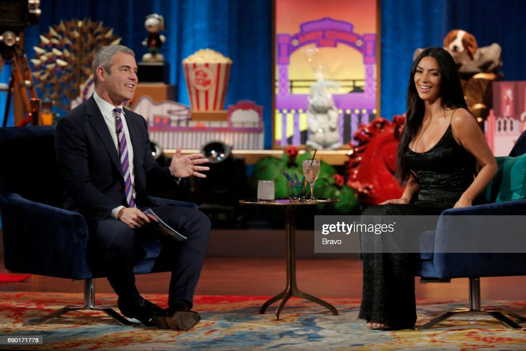 Andy Cohen, Kim Kardashian --