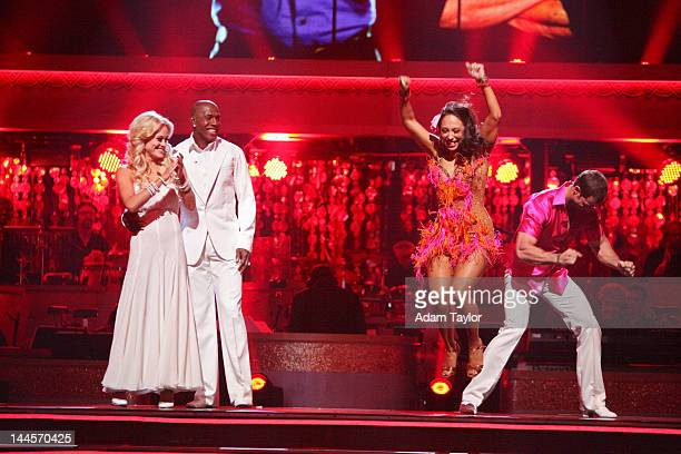SHOW 'Episode 1409A' The remaining couples waited to see who would be the next couple to go home on 'Dancing with the Stars the Results Show' TUESDAY...