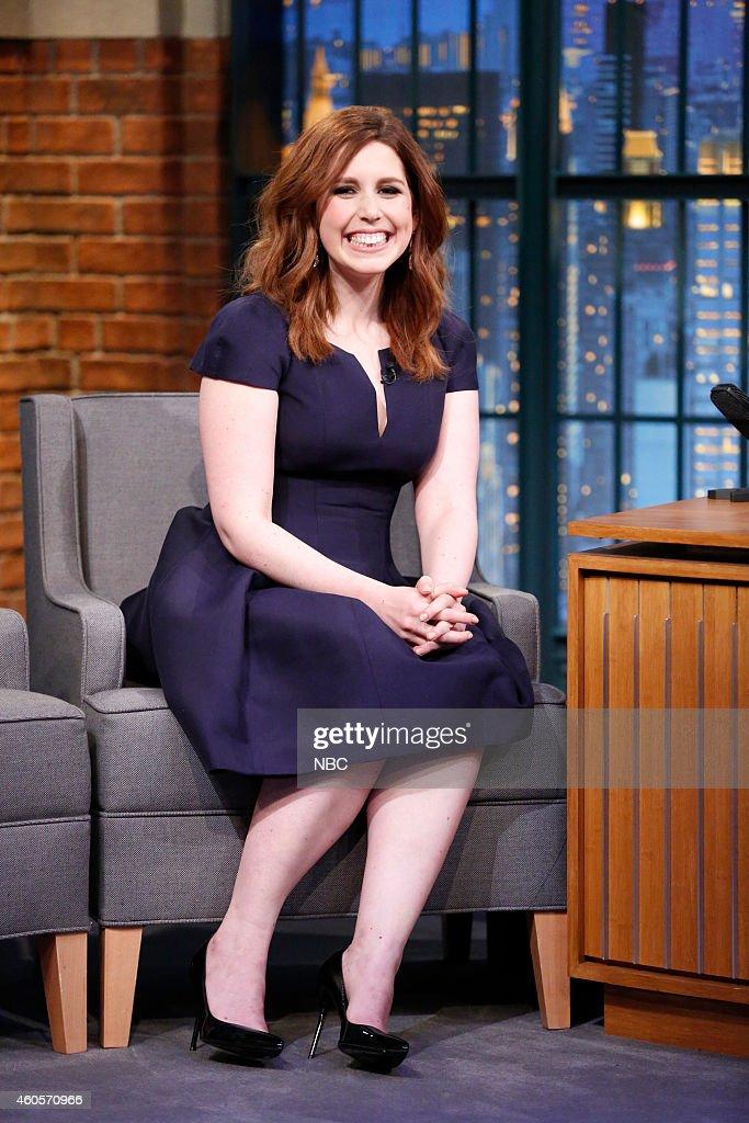 Actress Vanessa Bayer during an interview on December 16, 2014 --