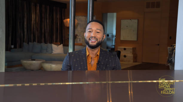 "NY: NBC's ""Tonight Show Starring Jimmy Fallon"" with guests 			John Legend, Jermaine Fowler, ARLO PARKS"
