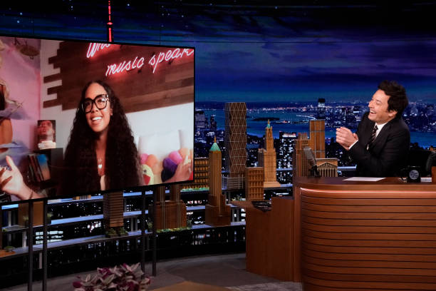 """NY: NBC's """"Tonight Show Starring Jimmy Fallon"""" with guests Snoop Dogg, H.E.R, musical guest H.E.R."""
