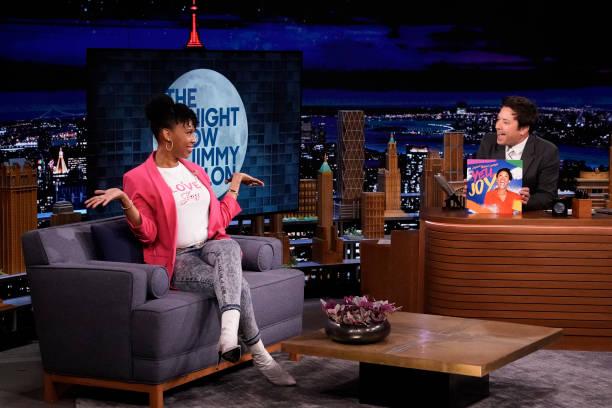 "NY: NBC's ""Tonight Show Starring Jimmy Fallon"" with guests Channing Tatum, Josh Duhamel, Comedian Joyelle Nicole Johnson"