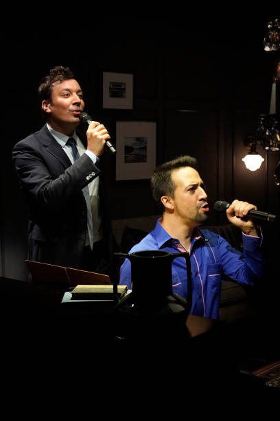 "NY: NBCs ""Tonight Show Starring Jimmy Fallon"" with guests Lin-Manuel Miranda, Phoebe Dynevor, SHARON VAN ETTEN & ANGEL OLSEN"
