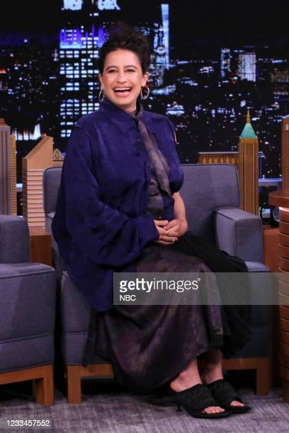 Episode 1479 -- Pictured: Actress Ilana Glazer during an interview on Monday, June 14, 2021 --