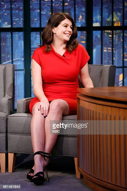 Actress Casey Wilson during an interview on January 12 2015