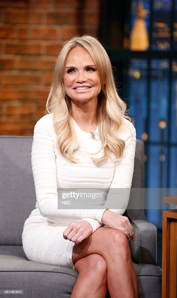Actress Kristin Chenoweth during an interview on January 12, 2015 --