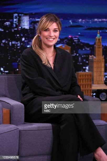 Episode 1481 -- Pictured: Actress Annie Murphy during an interview on Wednesday, June 16, 2021 --