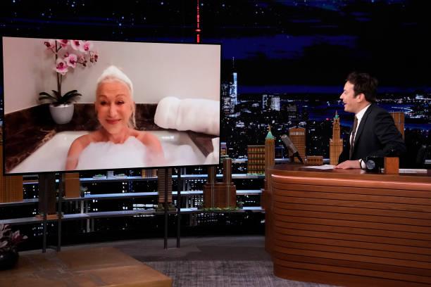 "NY: NBCs ""Tonight Show Starring Jimmy Fallon"" with guests Helen Mirren, Kenya Barris, NOEL GALLAGHER'S HIGH FLYING BIRDS"