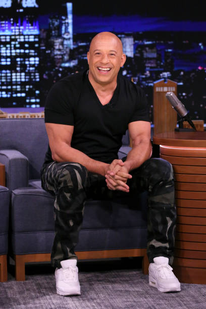 """NY: NBCs """"Tonight Show Starring Jimmy Fallon"""" with guests Vin Diesel, Riley Keough, MODEST MOUSE"""