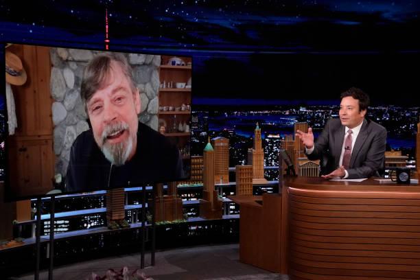 """NY: NBCs """"Tonight Show Starring Jimmy Fallon"""" with guests Mark Wahlberg, Mark Hamill, JOHN MAYER"""