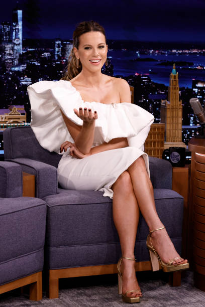 """NY: NBCs """"Tonight Show Starring Jimmy Fallon"""" with guests Kate Beckinsale, Fred Armisen, LEON BRIDGES"""