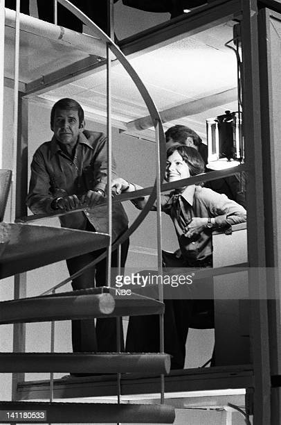 SQUARES Episode 15 Air Date Pictured Square guests Comedian Paul Lynde actress Sally Field Photo by Frank Carroll/NBCU Photo Bank