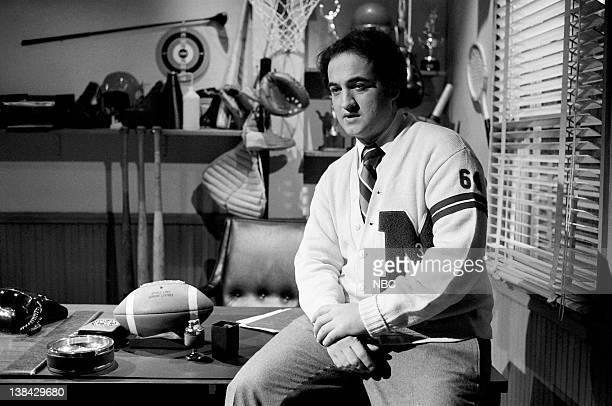 LIVE Episode 15 Aired Pictured John Belushi during John Belushi's Dream skit on March 12 1977