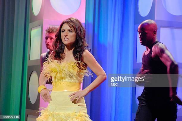 LIVE Episode 15 Aired Pictured Julia LouisDreyfus as Dee Dee Wells during Deep House Dish skit on March 17 2007