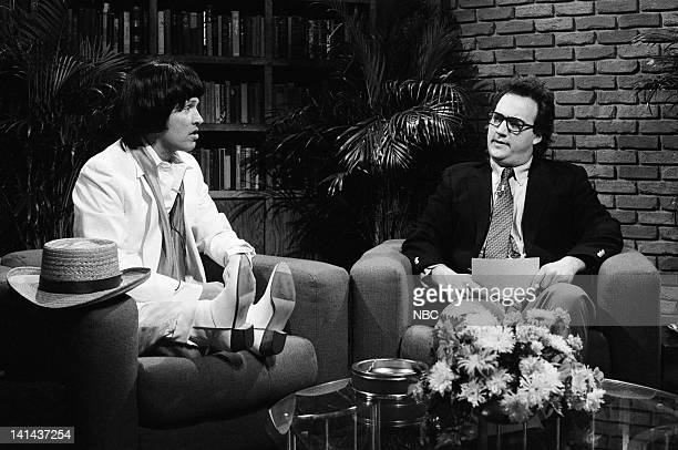 Billy Crystal as Herve Villechaize and Jim Belushi as Fred Kaz during the 'Bad Career Moves' skit on March 17 1984 Photo by Alan Singer/NBC/NBCU...