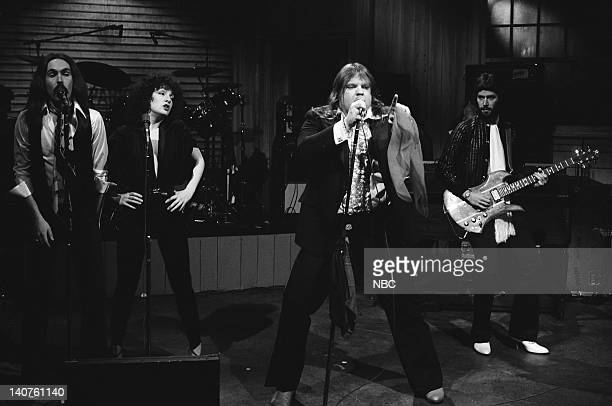 Musical guest Meat Loaf performs on March 25 1978 Photo by NBCU Photo Bank