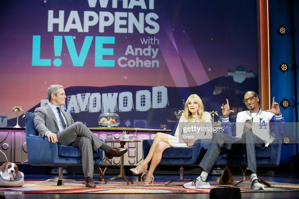 Andy Cohen, Anna Faris, Snoop Dogg --