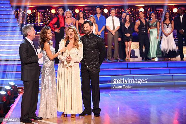 """Episode 1508A"""" - On this week's double elimination - Kirstie Alley and Maksim Chmerkovskiy, and Gilles Marini and Peta Murgatroyd - were the next two..."""