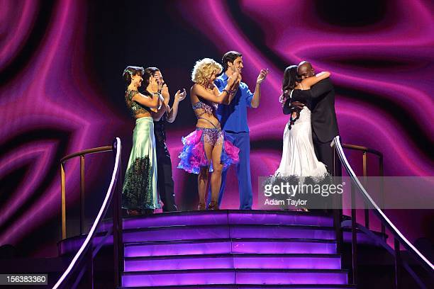 """Episode 1508A"""" - The remaining couples awaited to see who would be the next to go home, on """"Dancing with the Stars: All-Stars the Results Show,""""..."""