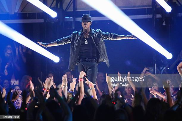 """Episode 1508A"""" - Three-time Grammy Award-winning artist Ne-Yo performed his current hit single, """"Let Me Love You ,"""" from his newest album, """"R.E.D,""""..."""