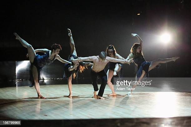 SHOW Episode 1509A DWTS professional dancer Derek Hough performed a number that he created featuring four talented female dancers Allison Holker...