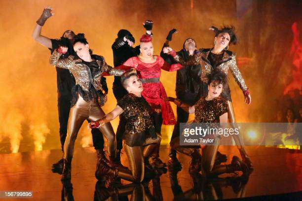 SHOW Episode 1509A In the final ATT Spotlight Performance 21year old Parris Goebel hit the DWTS ballroom on with her dance crew from New Zealand The...