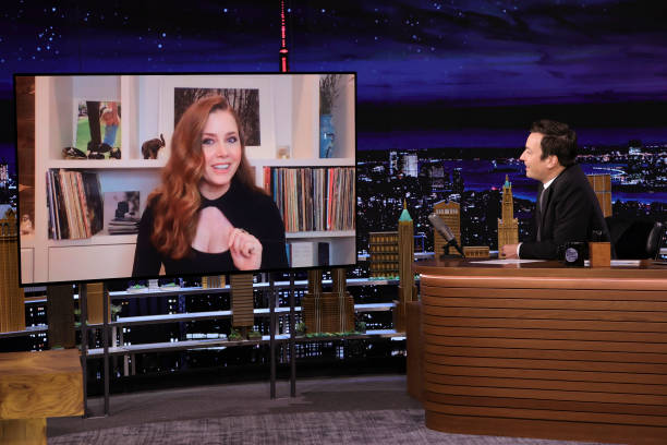 """NY: NBC's """"Tonight Show Starring Jimmy Fallon"""" with guests Amy Adams, Billy Crudup, A PERFORMANCE FROM """"SIX"""""""