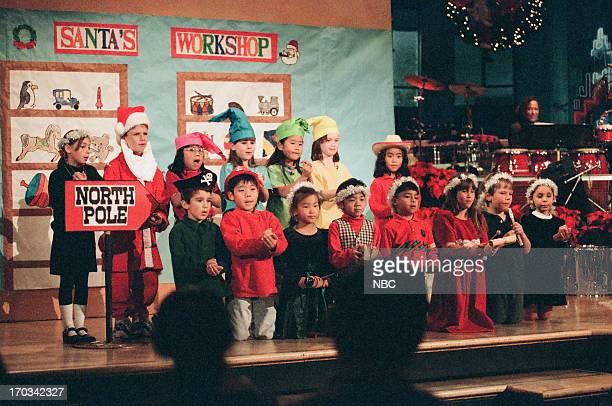 The Balboa Magnet Elementary school children during 'Kids Celebrate Christmas' segment on December 23 1998