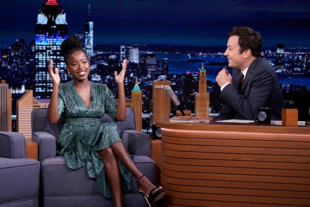 "NY: NBC's ""Tonight Show Starring Jimmy Fallon"" with guests Nicole Kidman, Amanda Gorman, Comedian Nore Davis"