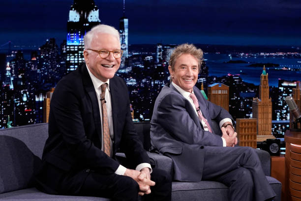 "NY: NBC's ""Tonight Show Starring Jimmy Fallon"" with guests Steve Martin & Martin Short, Margaret Qualley, Dr. Jane Goodall, CYNTHIA ERIVO"