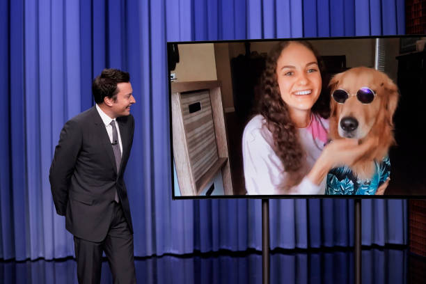 """NY: NBC's """"Tonight Show Starring Jimmy Fallon"""" with guests Snoop Dogg, Chris Colfer, MICKEY GUYTON"""