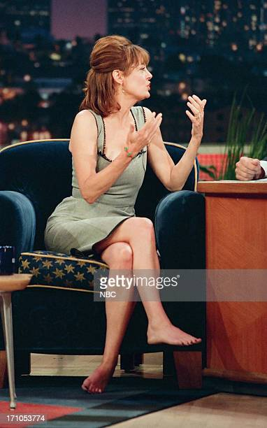Actres Susan Sarandon during an interview on January 11 1999