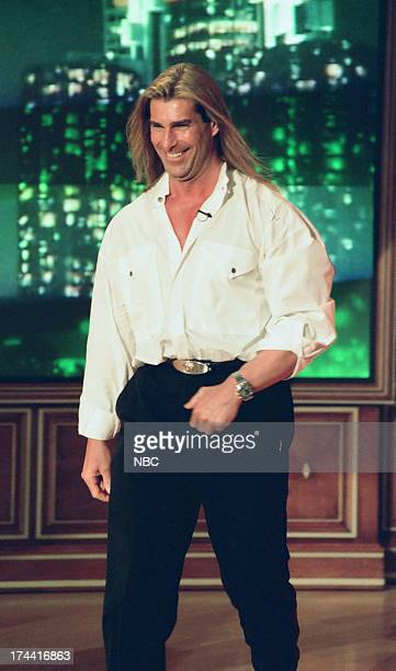 Fabio during an 'I Can't Believe It's Not Butter' walkon skit February 4 1999