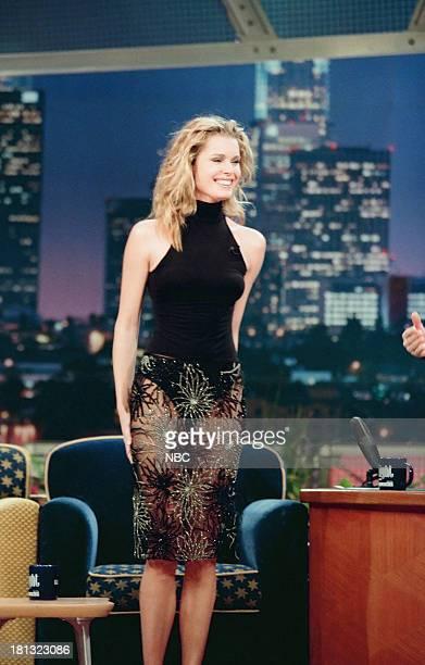 Model/actress Rebecca RomijnStamos on February 12 1999